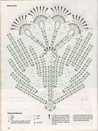красивое вязание схемы описание