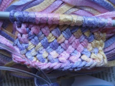 узор плетенка спицами